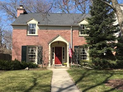 Milwaukee County Single Family Home For Sale: 6167 N Kent Ave