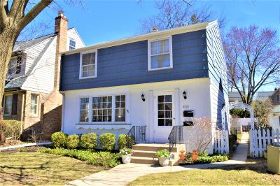 Whitefish Bay Single Family Home Active Contingent With Offer: 4620 N Larkin St