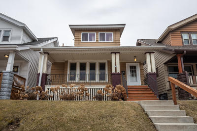 Milwaukee Single Family Home Active Contingent With Offer: 2341 E Euclid Ave
