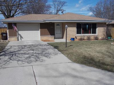Greenfield Single Family Home Active Contingent With Offer: 3704 W Allerton Ave