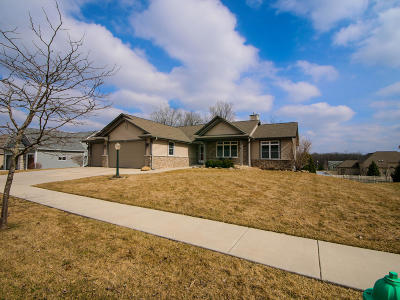 Racine County Single Family Home Active Contingent With Offer: 2148 Stonegate Rd