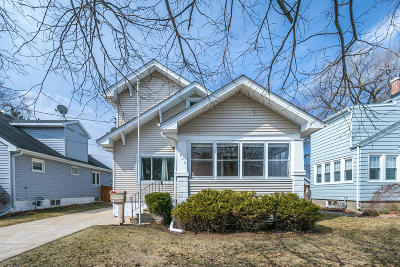 Kenosha Single Family Home Active Contingent With Offer: 7848 17th Ave