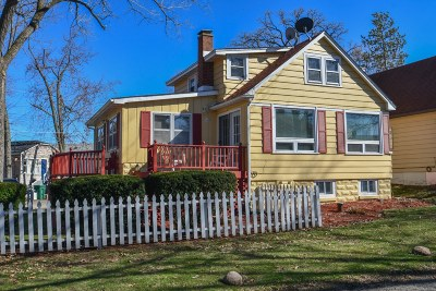 Delavan Single Family Home Active Contingent With Offer: 4421 East Dr