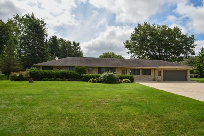 Menomonee Falls Single Family Home Active Contingent With Offer: N59w21789 Silver Meadows Dr