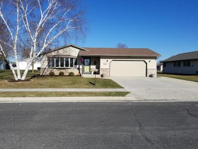 Oostburg WI Single Family Home Active Contingent With Offer: $229,900