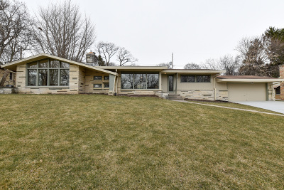 Milwaukee County Single Family Home For Sale: 3227 N Menomonee River Pkwy