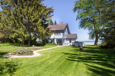 Milwaukee County Single Family Home For Sale: 7250 N Beach Dr
