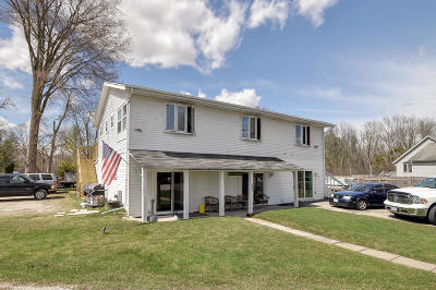 Waterford Multi Family Home For Sale: 7134 N Tichigan Rd