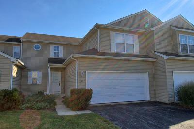Genoa City Condo/Townhouse Active Contingent With Offer: 1400 Hunters Ridge Dr #34