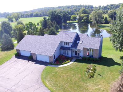 West Bend Single Family Home For Sale: 4747 County Road D