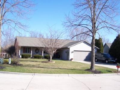 Sheboygan Single Family Home Active Contingent With Offer: 2548 Fox Ridge Court