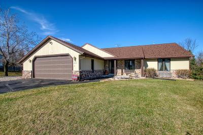 Menomonee Falls Single Family Home Active Contingent With Offer: W136n6833 Claas Rd