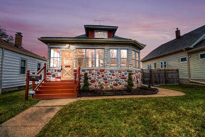 Milwaukee Single Family Home Active Contingent With Offer: 3768 S Brust Ave