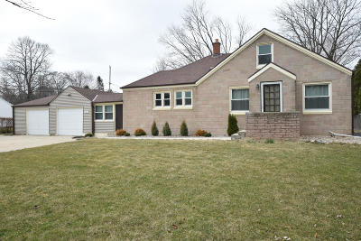 Brookfield Single Family Home Active Contingent With Offer: 3865 Lilly Rd
