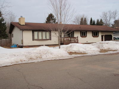 Marinette County Single Family Home For Sale: 1321 Cleveland St.