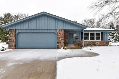 Cedarburg Single Family Home Active Contingent With Offer: N80w7401 Hickory St