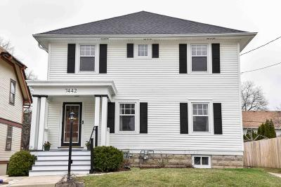 Single Family Home Active Contingent With Offer: 7442 Lincoln Pl