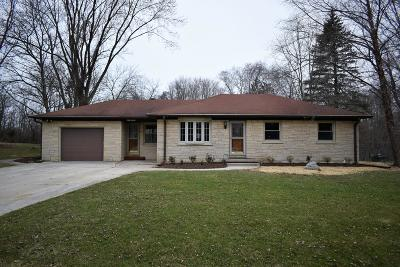 Menomonee Falls Single Family Home Active Contingent With Offer: W211n6889 Pleasant St