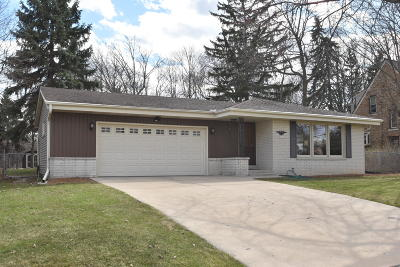 Greenfield Single Family Home Active Contingent With Offer: 7921 W Coldspring Rd