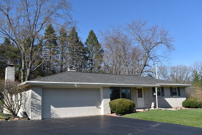 Waukesha Single Family Home For Sale: S22w25531 Harris Highland Dr