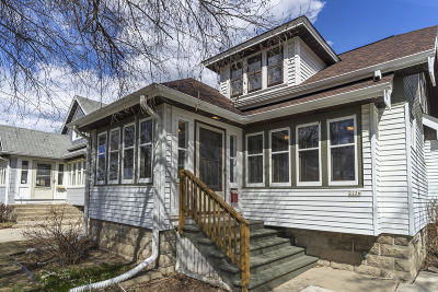 Single Family Home Active Contingent With Offer: 2226 N 66th St