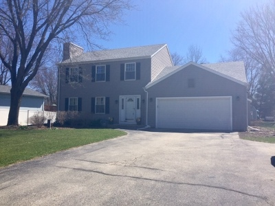 West Bend Single Family Home Active Contingent With Offer: 4950 Morning Glory Dr