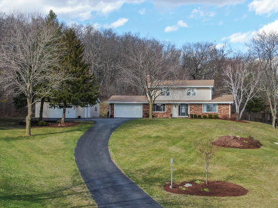 Waukesha Single Family Home Active Contingent With Offer: W245s7000 Heather Ct