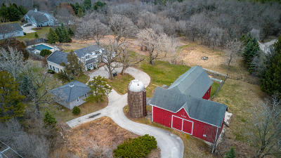 Waukesha Single Family Home Active Contingent With Offer: S57w29687 Saylesville Rd