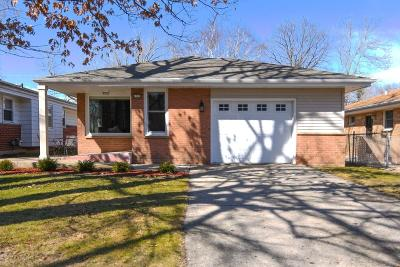 Single Family Home Active Contingent With Offer: 4163 N 97th St