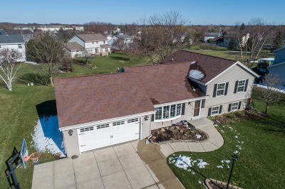 Menomonee Falls Single Family Home Active Contingent With Offer: W143n4960 Brook Falls Dr
