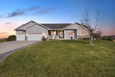 West Salem Single Family Home Active Contingent With Offer: N4316 Ruby Ln