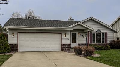 Racine Single Family Home Active Contingent With Offer: 5832 N Meadows Dr