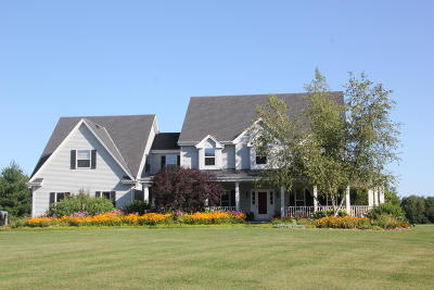 Dousman Single Family Home For Sale: S46w38746 County Road Zc
