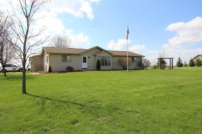 Watertown Single Family Home For Sale: N2375 Halter Ln