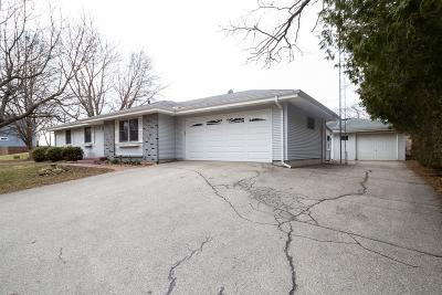 Delavan Single Family Home Active Contingent With Offer: N2425 Laura St