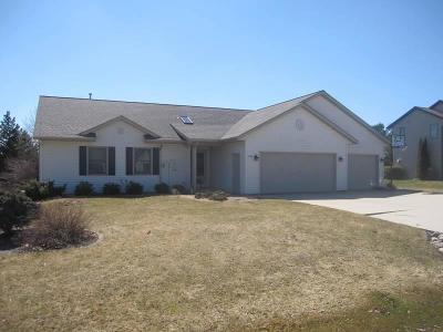 Sheboygan Single Family Home Active Contingent With Offer: 5105 W Ridgeview Av