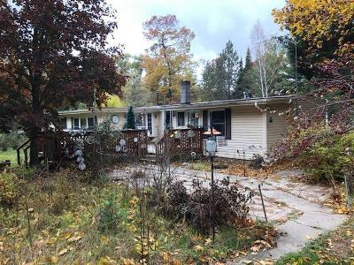 Marinette Single Family Home For Sale: N5752 Hwy 180