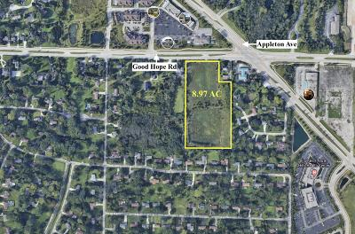 Menomonee Falls Residential Lots & Land For Sale: 0 Good Hope Rd