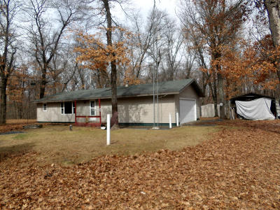 Marinette County Single Family Home For Sale: W11504 W 32 Nd Rd