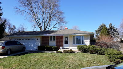 Racine County Single Family Home For Sale: 5232 Admiralty Ave