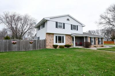 Menomonee Falls Single Family Home Active Contingent With Offer: N84w17420 Menomonee Ave