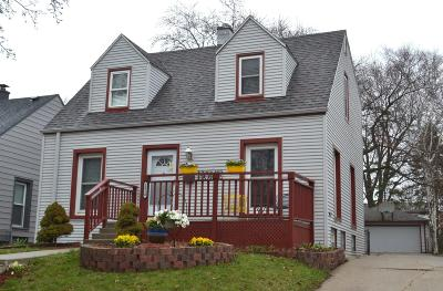 West Allis Single Family Home For Sale: 2610 S 78th St