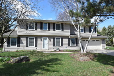 Waukesha County Single Family Home For Sale: W227n2533 Meadowood Ln