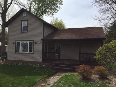 Whitewater Single Family Home For Sale: 282 S Franklin St