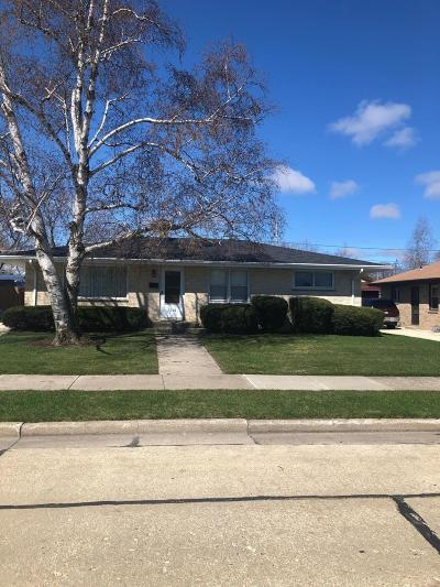 Racine Single Family Home Active Contingent With Offer: 1516 Orchard St