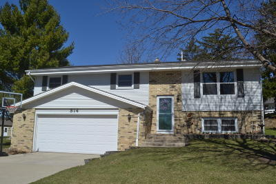 West Bend Single Family Home For Sale: 514 Riverview Pl