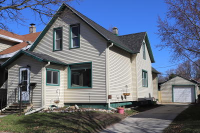 Sheboygan WI Single Family Home For Sale: $114,900