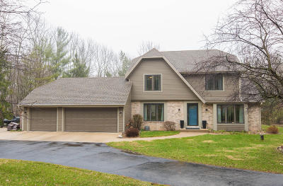 Richfield, Hubertus Single Family Home For Sale: 4648 Sonseeahray Dr