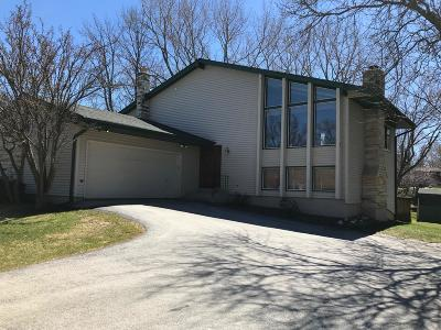 Waukesha County Single Family Home Active Contingent With Offer: 17645 W Burleigh Rd