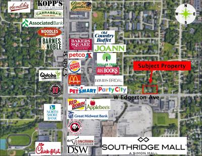 Milwaukee County Residential Lots & Land For Sale: 6930 W Edgerton Ave #7016